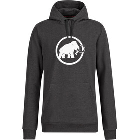 Mammut Logo ML Hoody Men, black melange